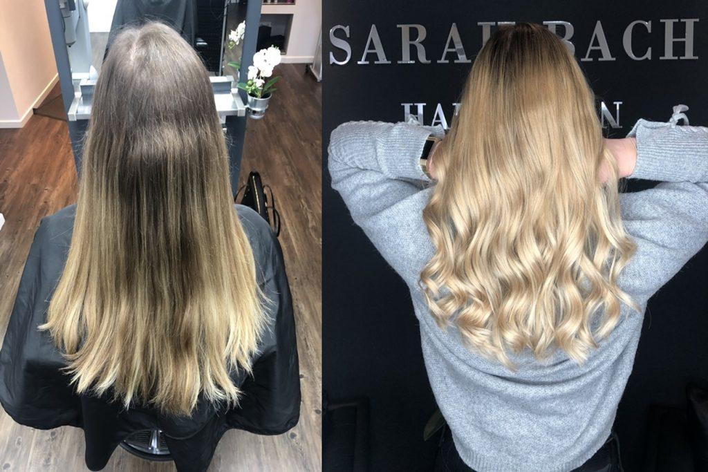 Balayage Hightlights Strähnen Sarah Bach Hairdesign Friseur Köln Brück