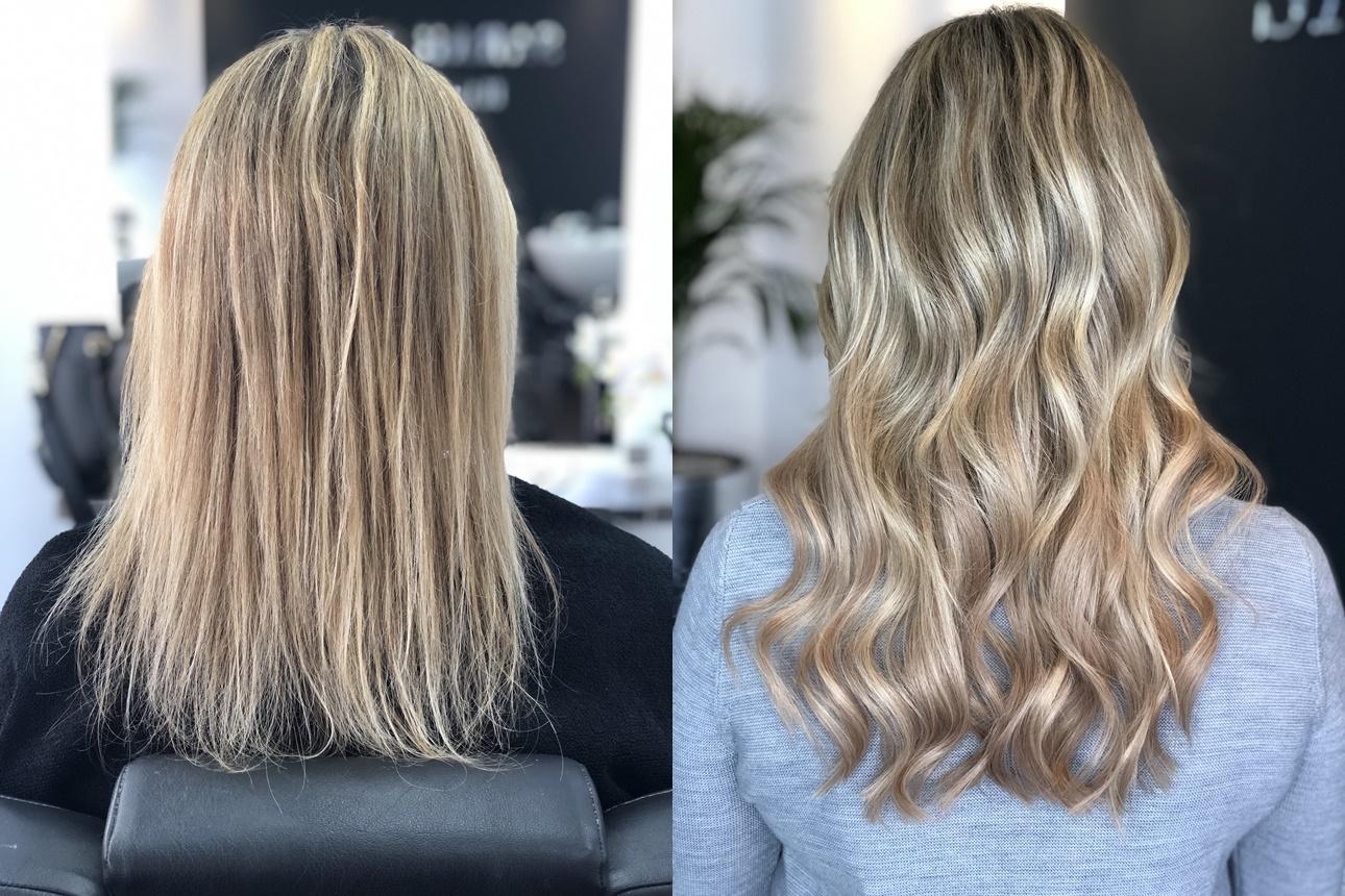 Extensions Haarverlängerung Sarah Bach Hairdesign Friseur Köln Brück