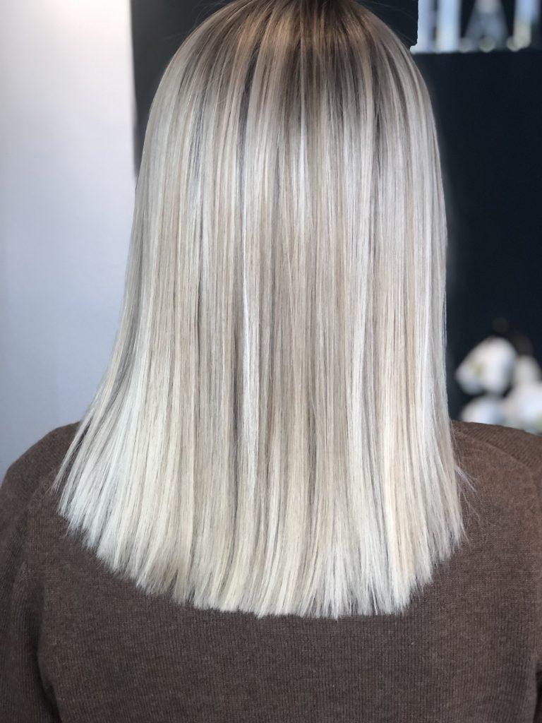 Balayage Highlights Strähnen Sarah Bach Hairdesign Friseur Köln Brück